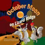October Moon On Lizard Ridge