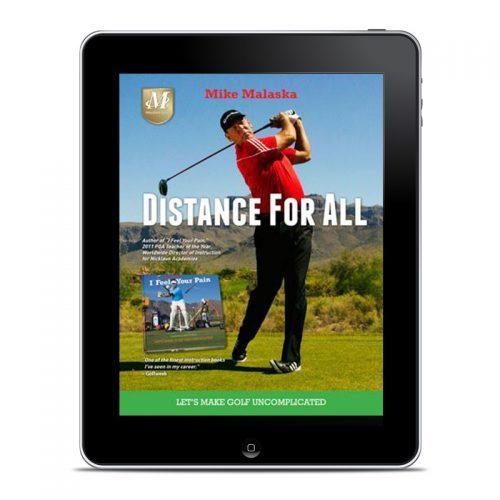 Malaska Golf, Mike Malaska, Distance for All, Golf Swing, Driver Distance