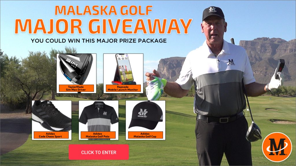 Malaska Golf PGA Major Championship Giveaway