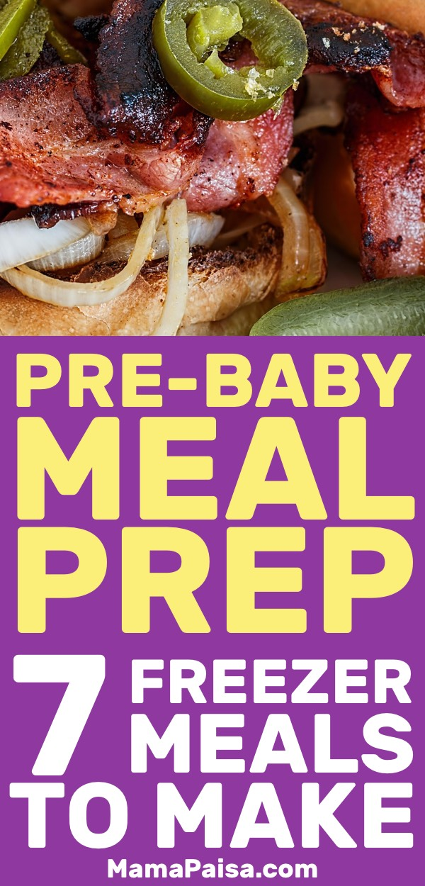 Pre-Baby Meal Prep: 7 Low-Carb Freezer Meals to Make