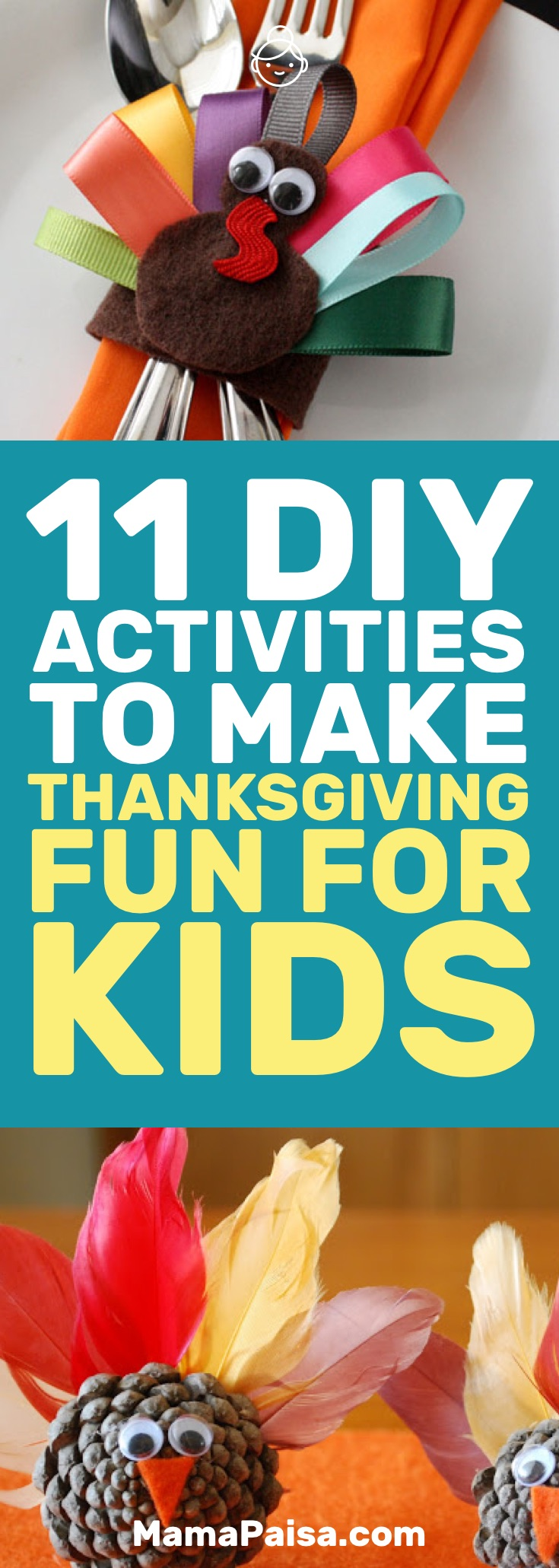 11 DIY Activities to Make Thanksgiving Fun for Kids