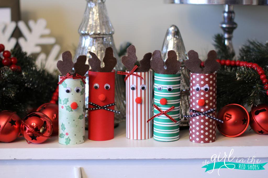These fun DIY Christmas crafts will have you drinking eggnog, singing Holiday songs and provide you with nice Christmas decorations for years to come.