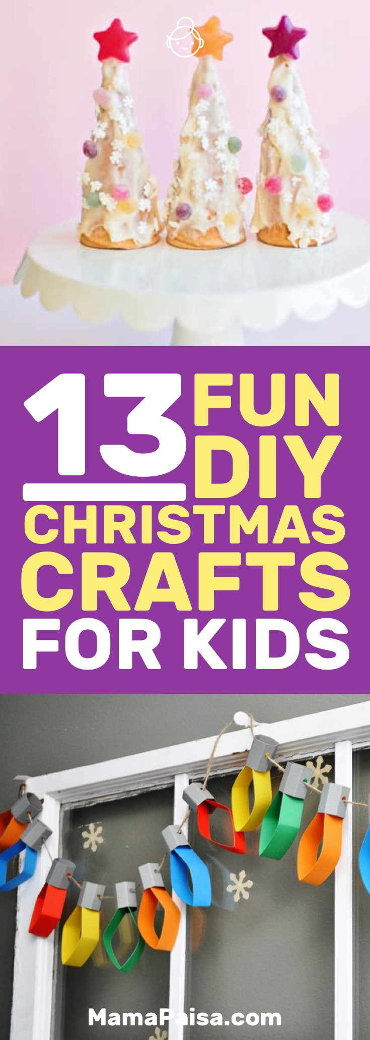 I was on the lookout for Christmas crafts for kids to make and I found these awesome DIY Christmas crafts. Definitely giving them a shot.