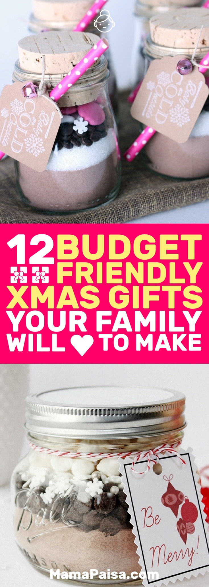 12 Budget-Friendly DIY Christmas Gifts that Your Family Will Enjoy Making