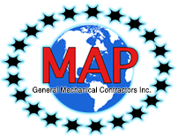 M.A.P. General Mechanical Contractors, Inc. Logo