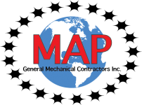 MAP General Mechanical Contractors, Inc. Logo