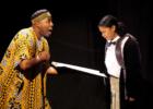 Production Photo 3: Anansi