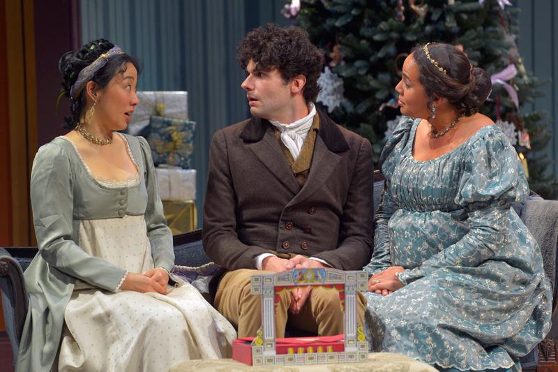 Miss Bennet Christmas At Pemberley.Miss Bennet Christmas At Pemberley Marin Theatre Company