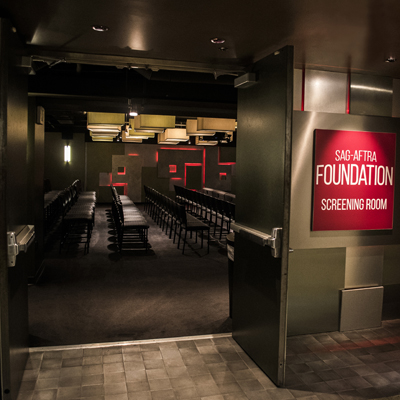 Entrance of the Screening Room