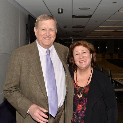 Ken Howard and Margo Martindale attend  the Opening of SAG Foundation Actors Center In New York