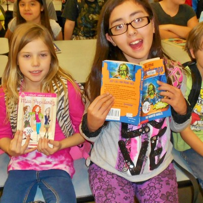 Kids at a BookPALS reading