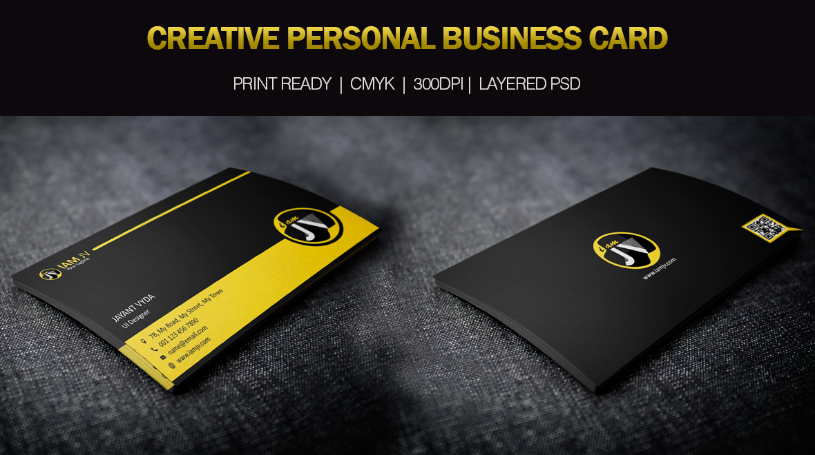 Personal - Business Card - Logos & Graphics