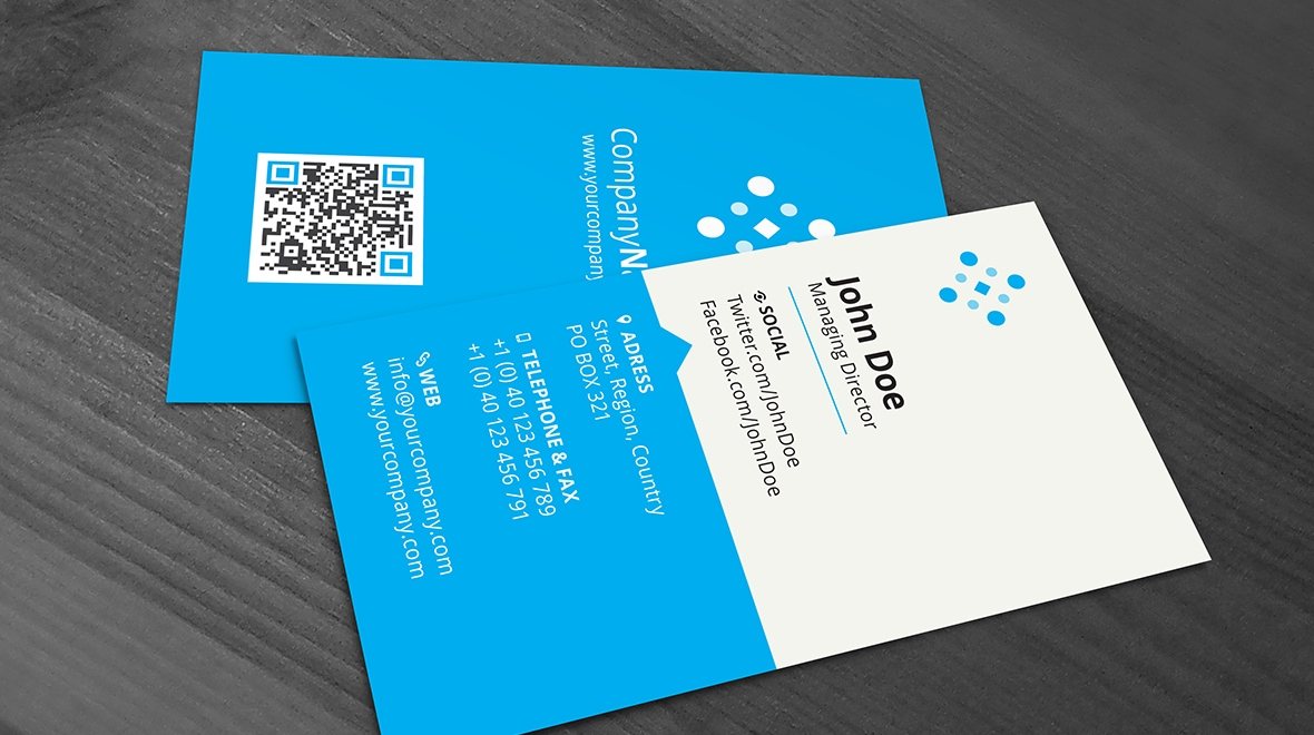 minimal - and clean business card