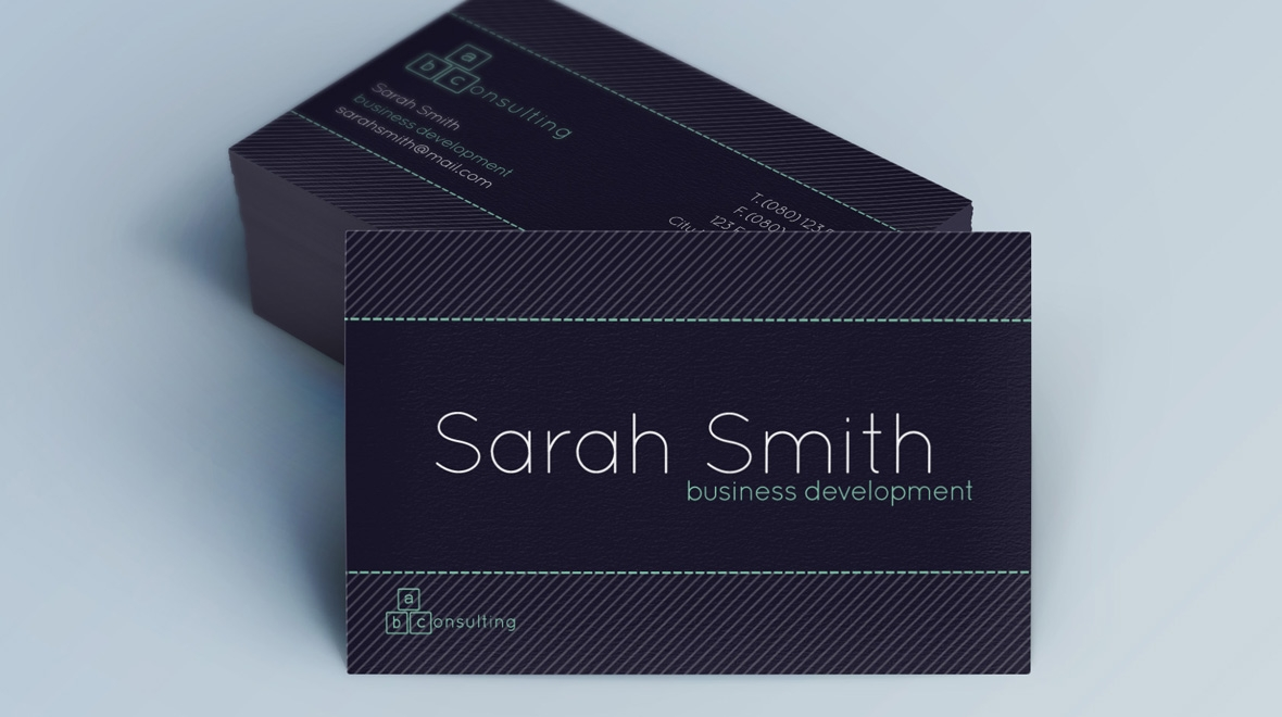 Creative - Minimal Business Card - Consulting - Logos & Graphics