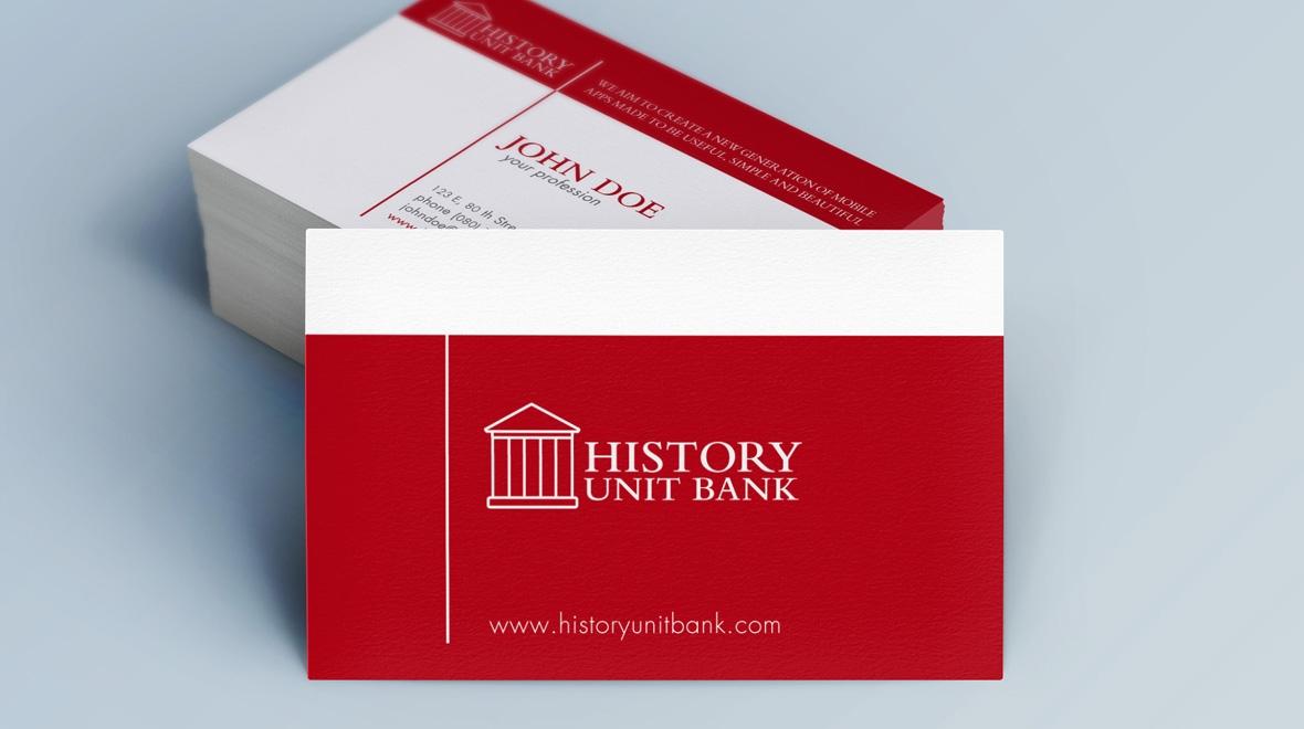 Creative - Minimal Business Card - Bank - Logos & Graphics