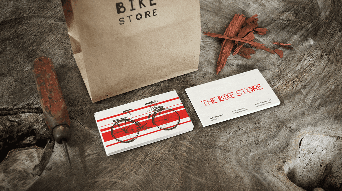 The - Bike Store - Business Card - Logos & Graphics