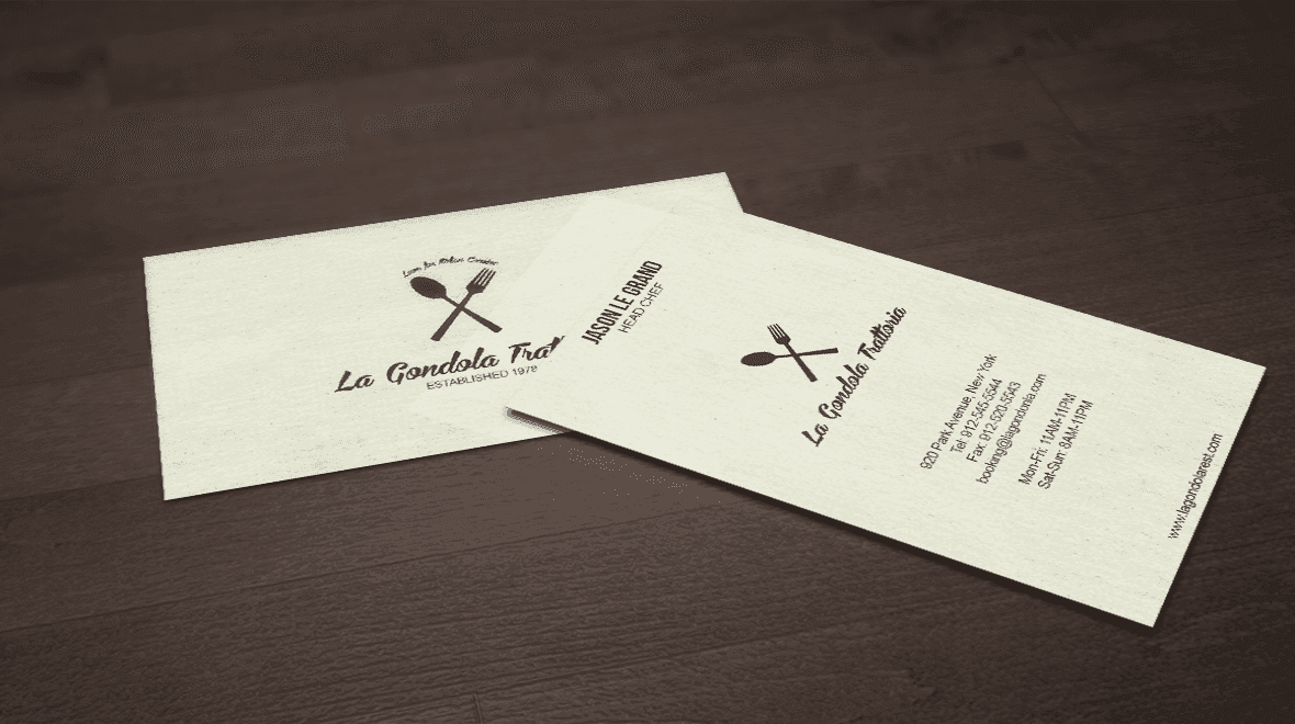 restaurant business cards - Paso.evolist.co