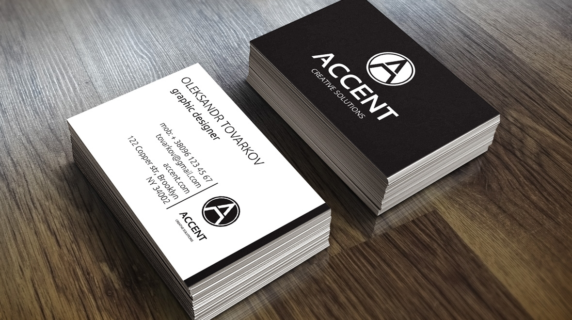 Elegant business card logos graphics item details elegant colourmoves