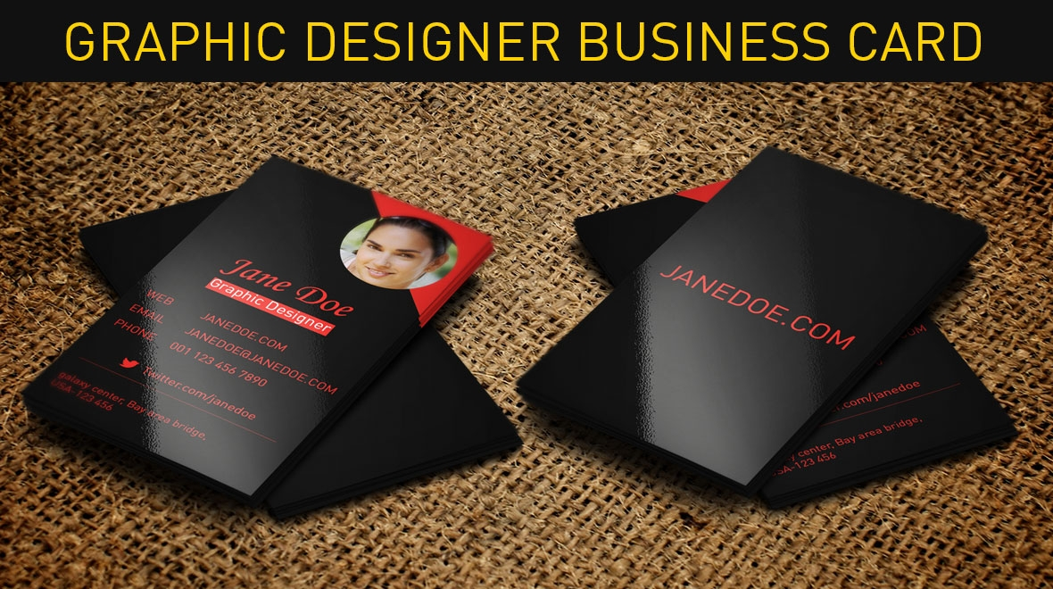 Graphic - Designer Business Card - Logos & Graphics