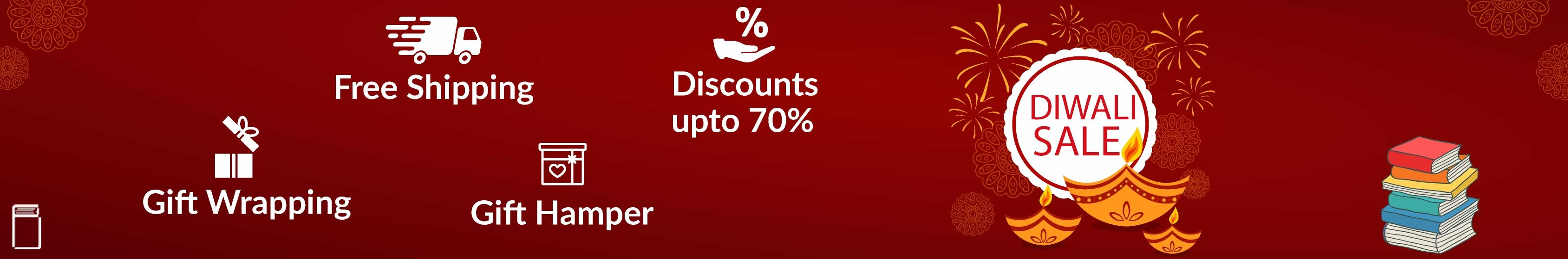 Diwali Sale Offer Books