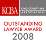KCBA Kings County Bar Association, Outstanding Lawyer Award 2008