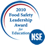 NSF 2010 Food Safety Leadership Award for Education