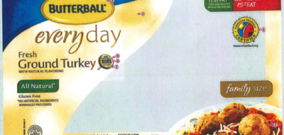 Butterball Ground Turkey Salmonella Outbreak