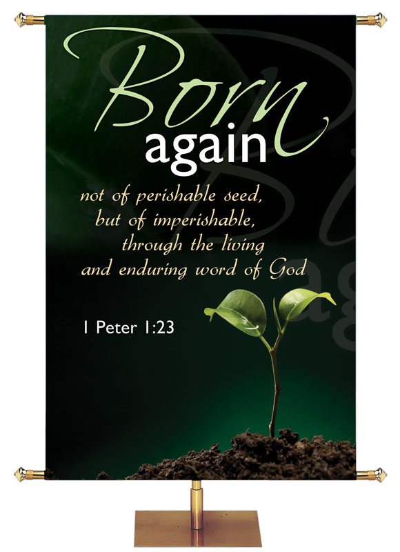 Born Again Christian Banners