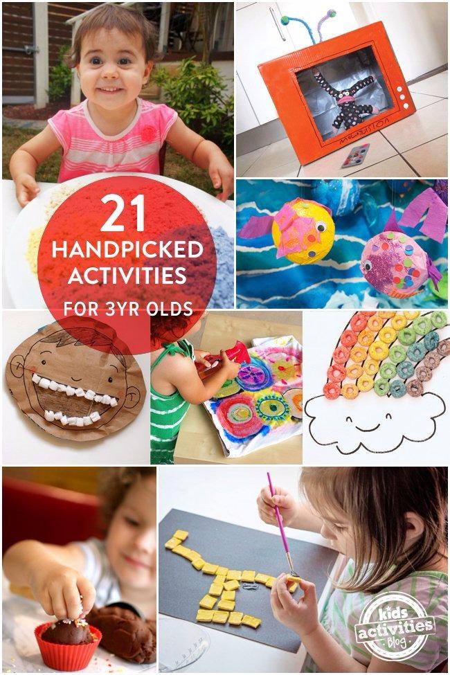21 HANDPICKED FUN ACTIVITIES FOR 3 YEAR OLDS - Kids Activities