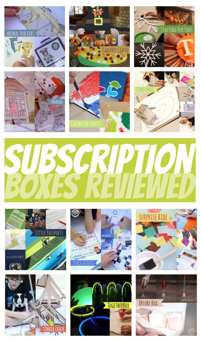 12 subscription craft boxes for kids compared kids for Craft box for toddlers