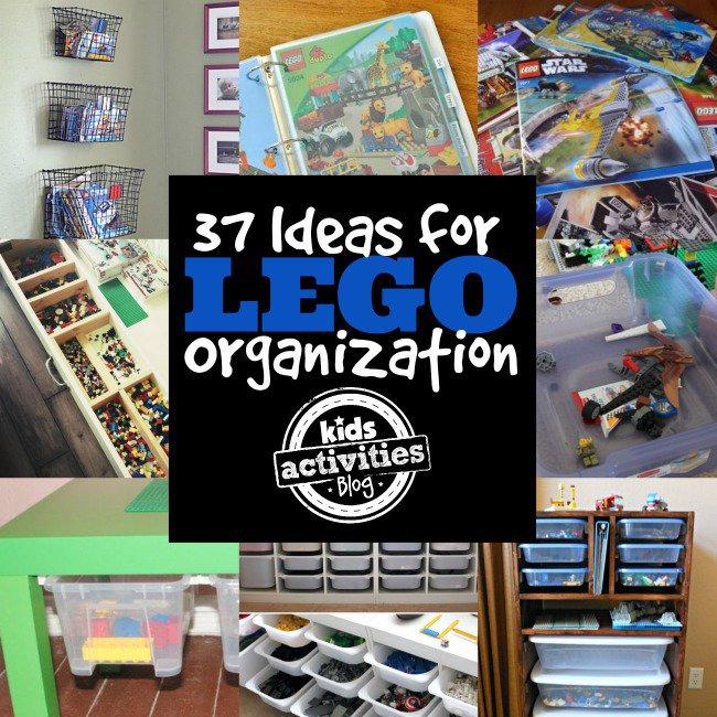 Organize LEGOs