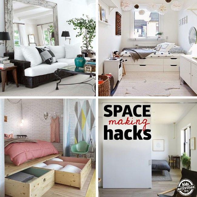 27 Genius Small Space Organization Ideas Kids Activities