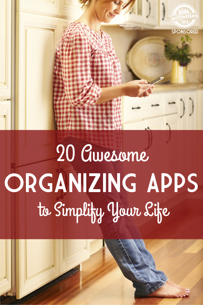 20 Best Organizing Apps that Will Simplify Your Life - Kids Activities