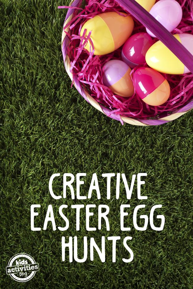 Easter Egg Hunt 5 Creative Ideas Kids Activities