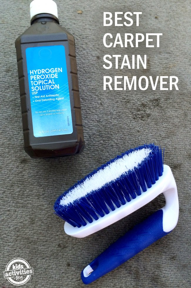 2 Ingredient Carpet Stain Cure Kids Activities