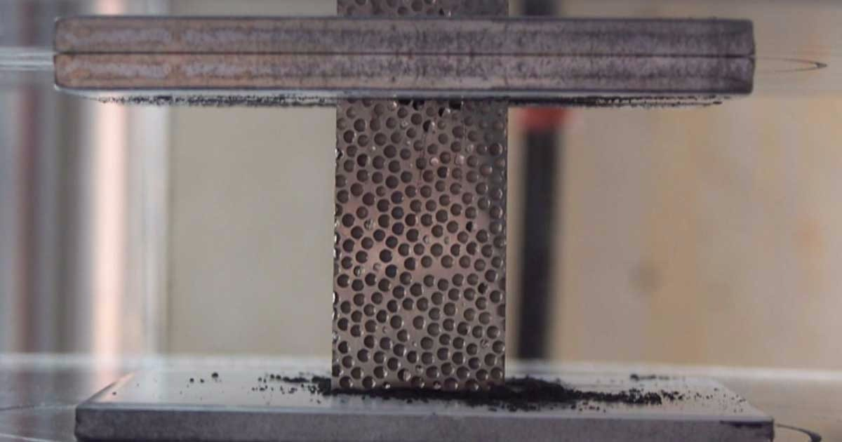 New Body Armor? New Bulletproof Foam Stops Even Armor Piercing Bullets And Disintegrates Them
