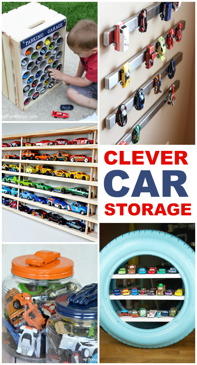 15 Clever Toy Car Storage Ideas Kids Activities
