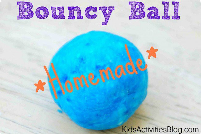 DIY FOR KIDS {MAKE A BOUNCY BALL} - Kids Activities