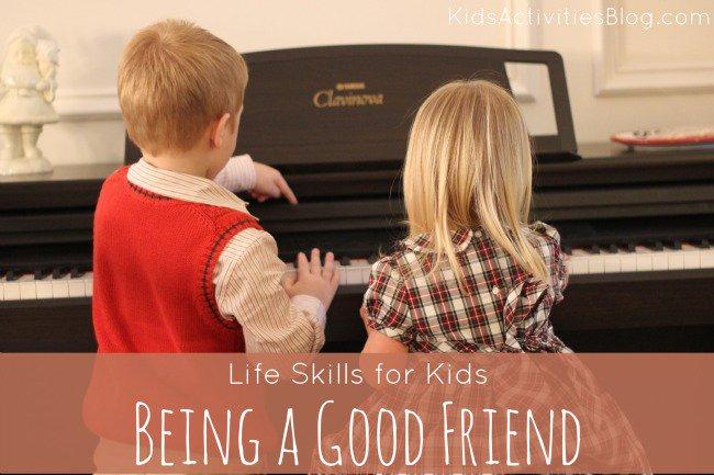 teaching life skills to children for better development