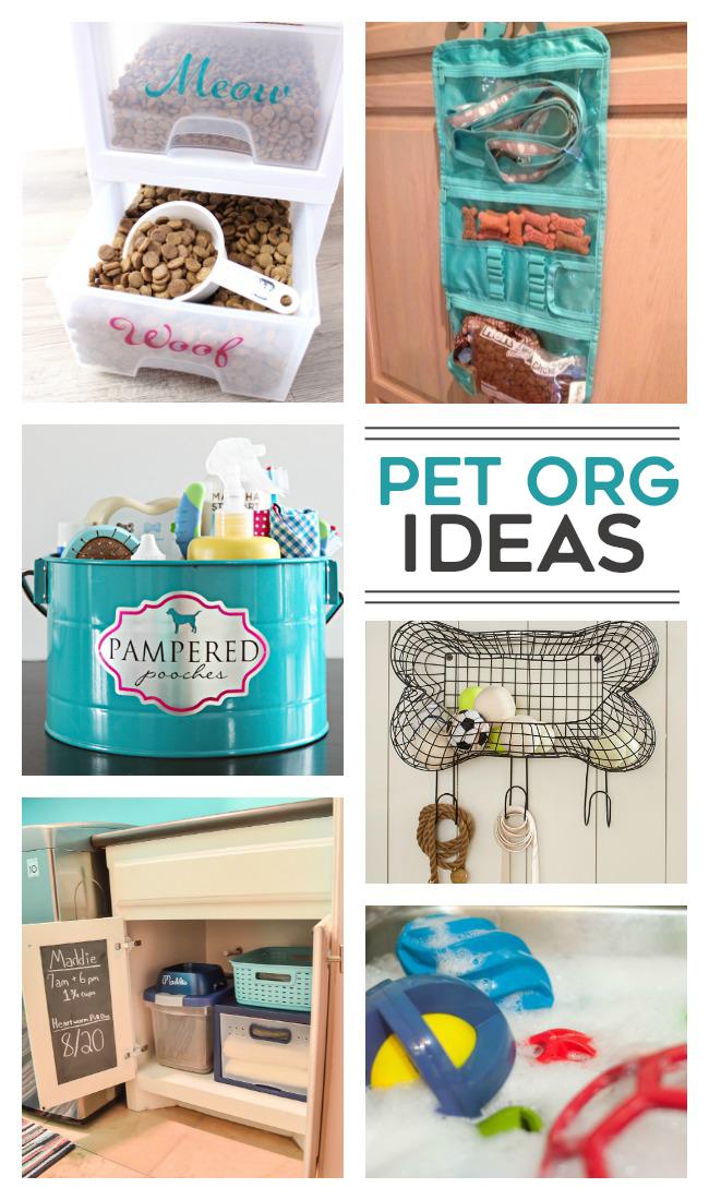 Dog Organization Ideas Storage Pet Supplies
