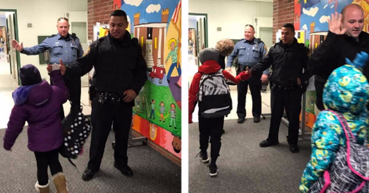 School's 'High Five Friday' With Cops Canceled Because Of Fear Of The Police