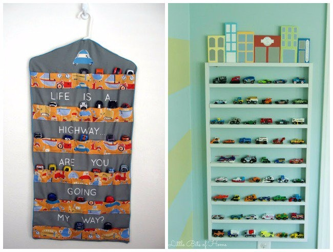 Merveilleux A Simple Plastic Thread Organizer Works Awesome For Toy Cars!