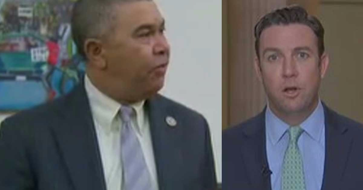 Rep. Lacy Clay Demands Rep. Duncan Hunter Be Arrested For Removing Police As Pigs Painting