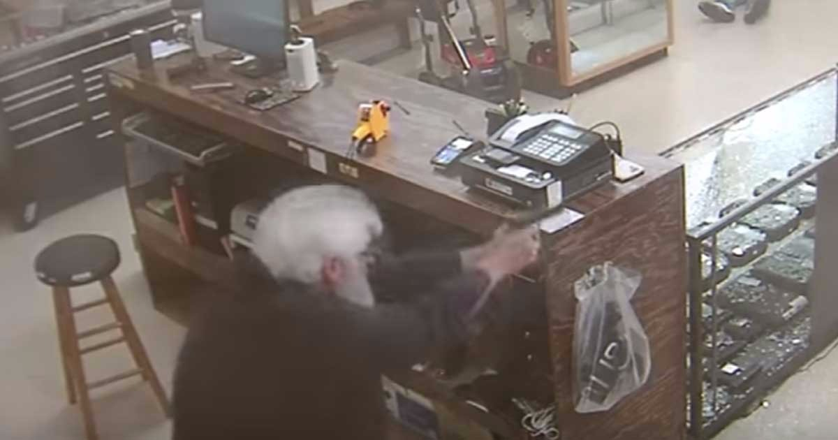 Idiots Try To Rob Dixie Gun Store, Briefly Learn Why You Don't Rob Gun Stores