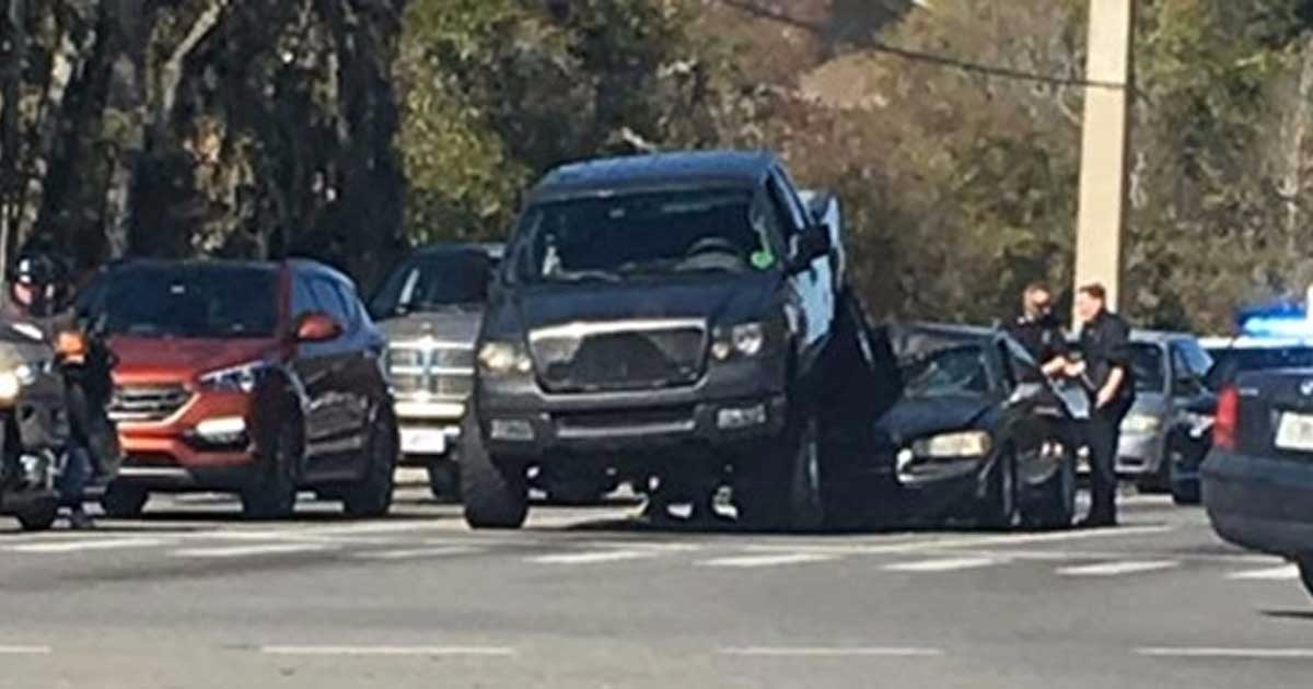 Ocala Man, Zach Waring, Backs Truck Over Another Vehicle As Self-Defense In Road Rage Incident