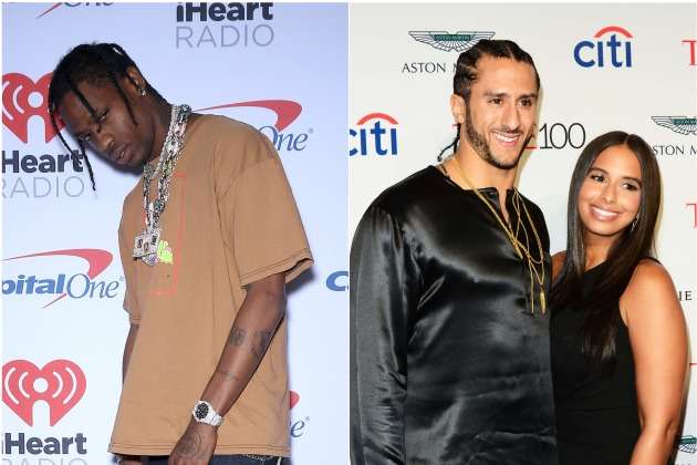 "Travis Scott Reportedly Spoke To Kaepernick; The QB Co-Signs ""Sell Out"" Tweets"