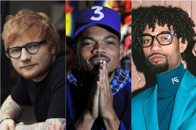 "Ed Sheeran Taps Chance The Rapper & PnB Rock For Upcoming ""Cross Me"" Single"