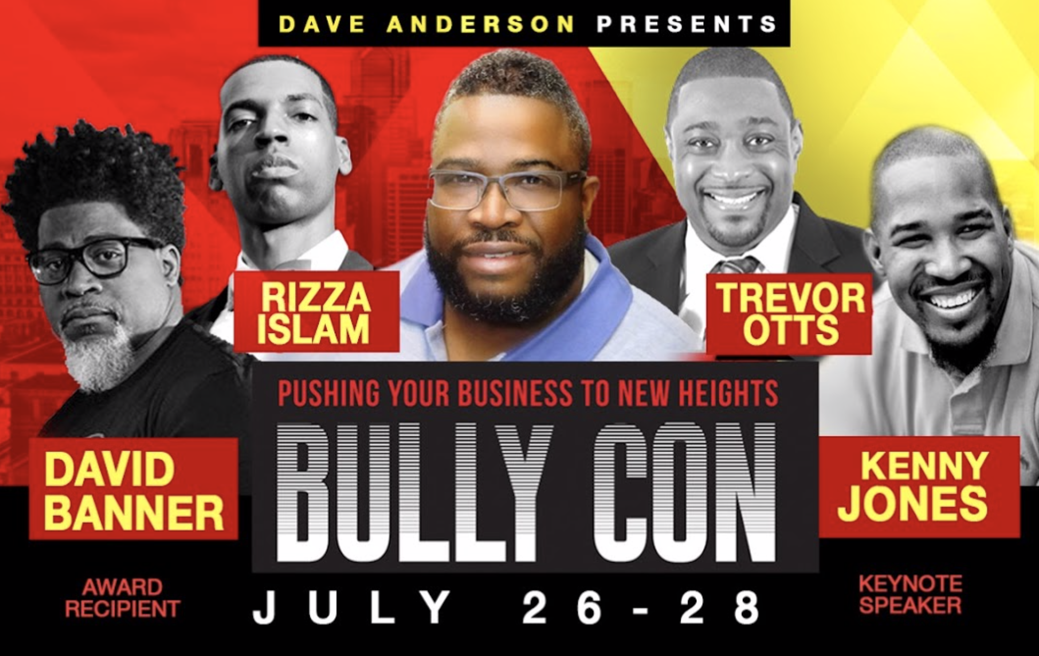 BullyCon Assembles Rizza Islam, David Banner And Business Owners For Conference