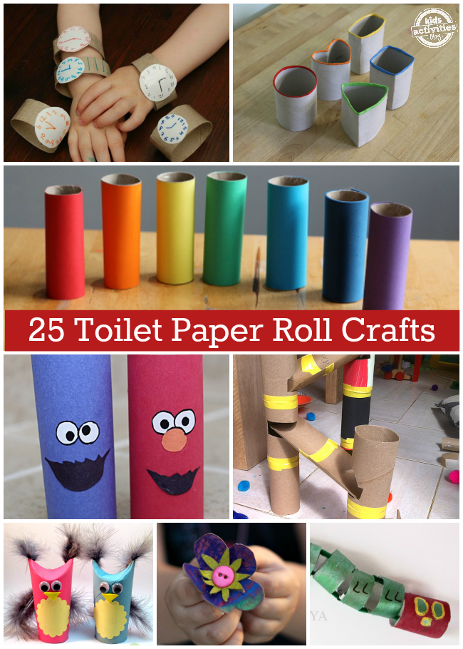 25 incredible toilet paper roll crafts kids activities 25 incredible toilet paper roll crafts sciox Gallery