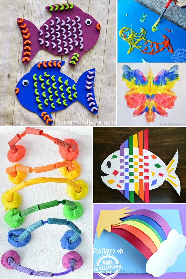 Kids Craft Ideas Part - 18: OVER 25 COLORFUL KIDS CRAFT IDEAS